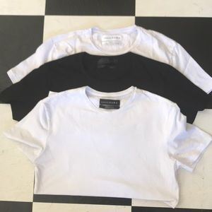 Zara essential tees bundle 3